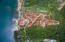 Aerial view of Pangea Beach, please note only lot 25 is for sale in this listing.