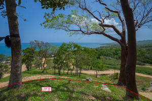 Stunning ocean views from this hill top lot