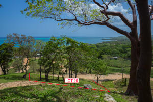 Hillside lot 19 offers ocean views