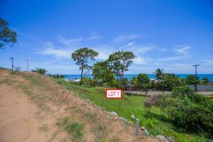 Partial ocean views from Lot 7 in Pangea Beach