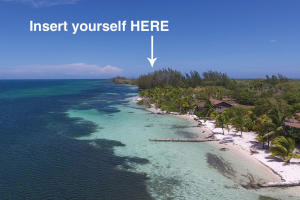 Sparkling sandy shores, Gibsons Bay East 110 ft beach, Utila,