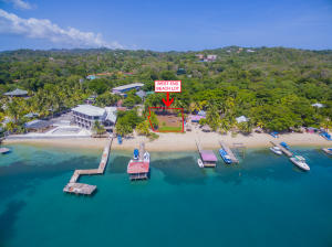 Just west of Sueno Del Mar, West End Beach lot, Roatan,