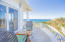 This wrap around porch allows you to have a 180 degree view and see the ocean on both the north and south shores.