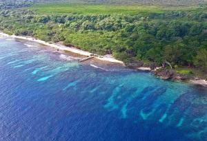 Beachfront Property, Big Rock, 6.19 Acres with 1,200 Ft of, Utila,