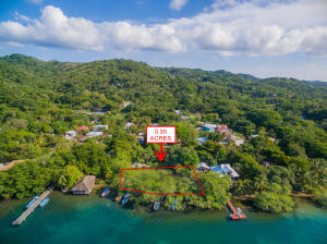 This flat ready to build lot is .30 acres