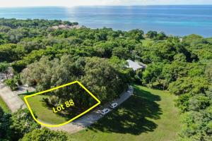 Lawson Rock, Ready-to build Corner Lot 88, Roatan,