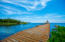 Community dock in Coral Views
