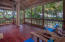 Spacious screened in porch