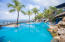 Enjoy the community pool that offers views of the Caribbean Sea!