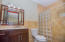 Ensuite in the second guest suite