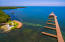 Aerial view of Coral Views Beach