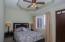 Bedroom in the 1 bedroom apartmet