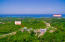 Aerial views of Coral Views, Lot 7 and distance to French Harbour.