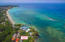 Aerial of Caribe Tesoro and the location of the Tortuga Condo
