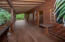 Large wrap around lower porch
