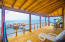 Penthouse covered deck with sweeping views