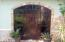 Stunning door made of Honduran hardwood.