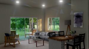 Rendering for living space
