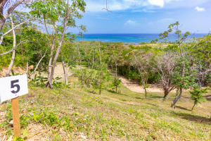 Enjoy clear ocean views of the North Shore from lot 5
