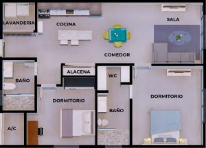 The Condo Floor Plan