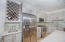 Wine bar and wine fridge are also part of the kitchen
