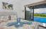 The master ensuite is steps away from the pool