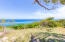 Enjoy the stunning ocean views from the top of this lot.