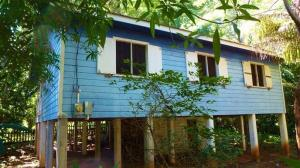 The Blue House at Crum