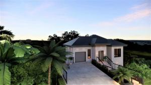 Rendering of what the home will look like upon completion