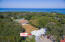 Aerial view of Ludy's Village unit 3A, just a stones throw away from the beach