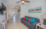 Living room is an open concept floor plan