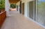 This spacious patio is party of unit B5