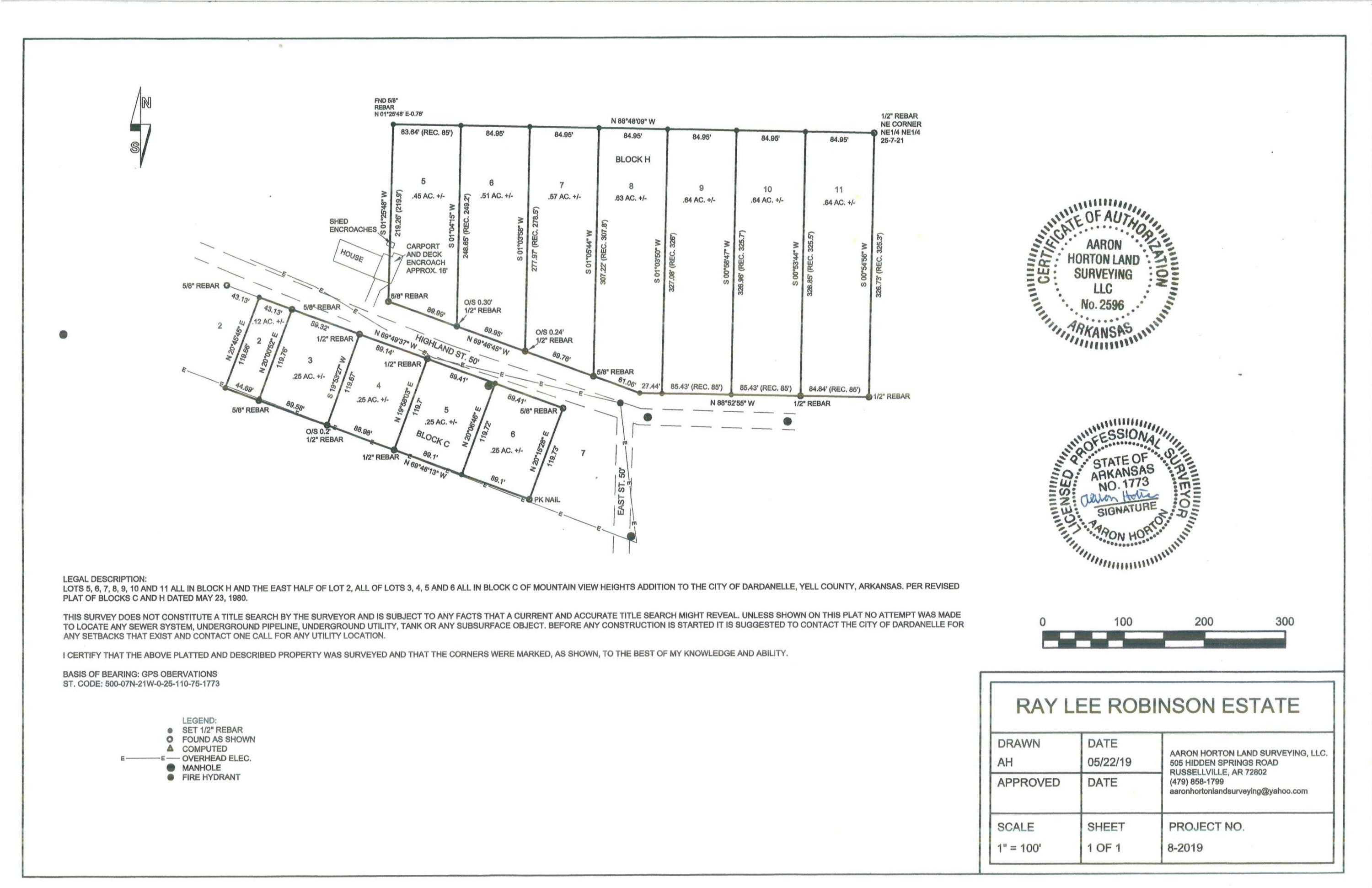 Large photo 1 of land for sale at  Highland Court, Dardanelle, AR, listed by RE/MAX FIRST