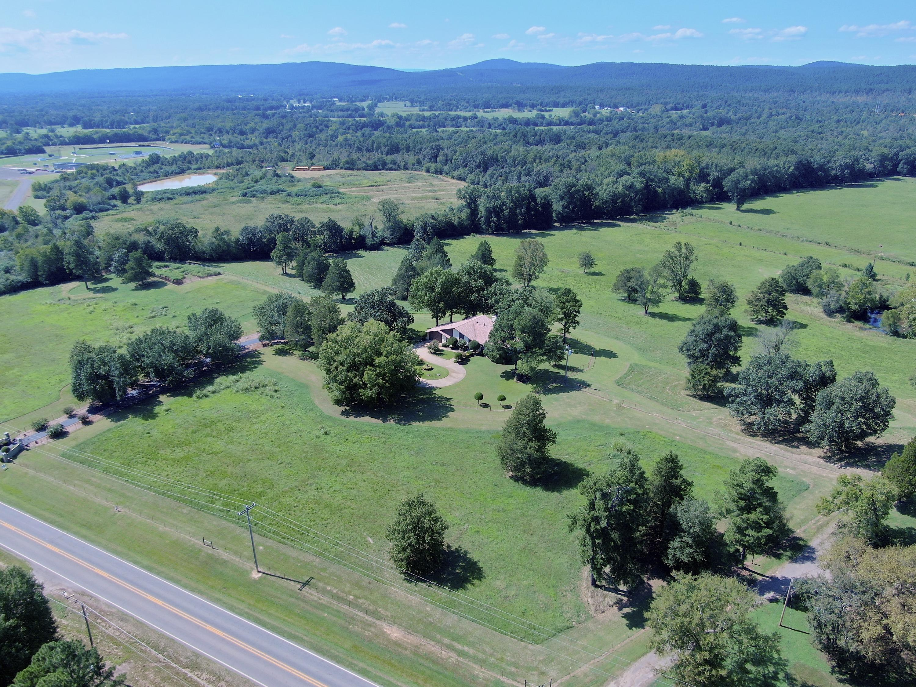 Large photo 15 of home for sale at 18015 E. State Highway 28 +40 acres , Ola, AR