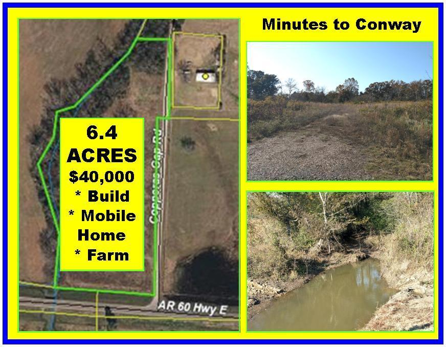 Large photo 1 of land for sale at 00 Copperas Gap Road, Houston, AR, listed by ERA Team Real Estate