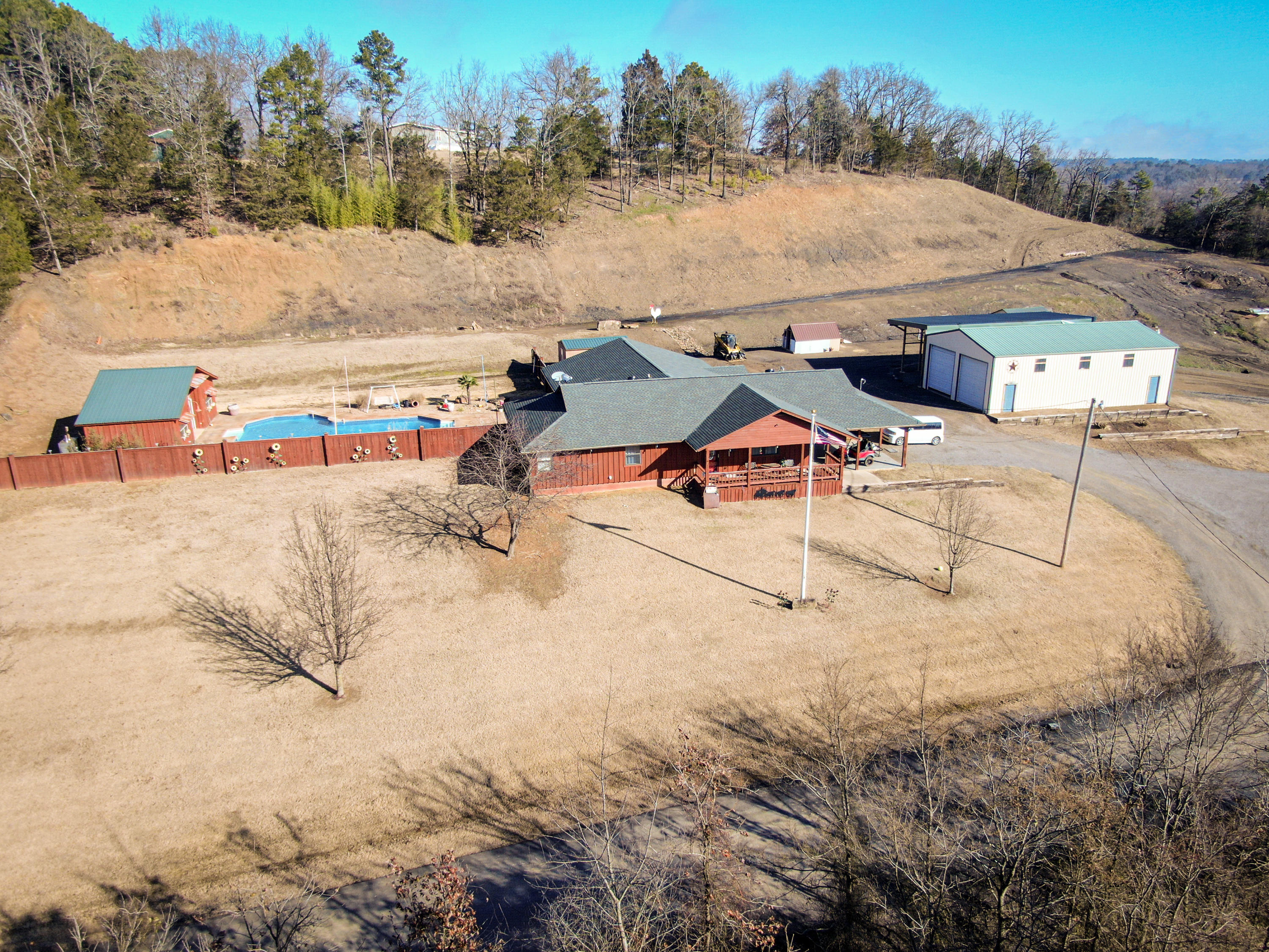 Large photo 1 of home for sale at 177 Wild Cat Lane, Russellville, AR