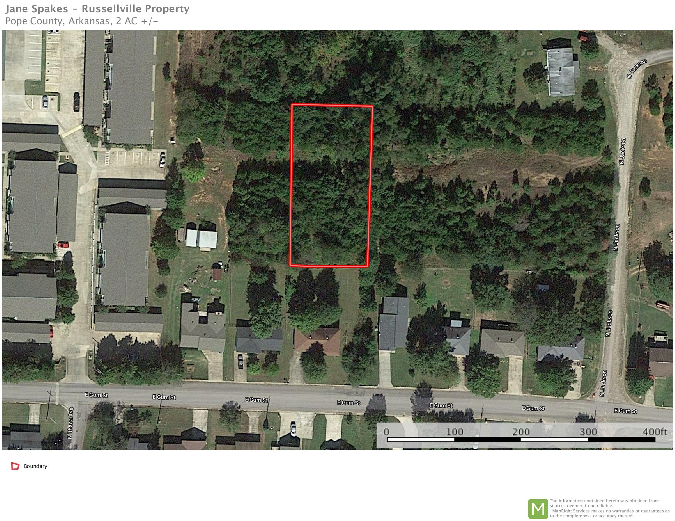 Large photo 1 of land for sale at  Jackson Avenue, Russellville, AR, listed by River Valley Realty, Inc.