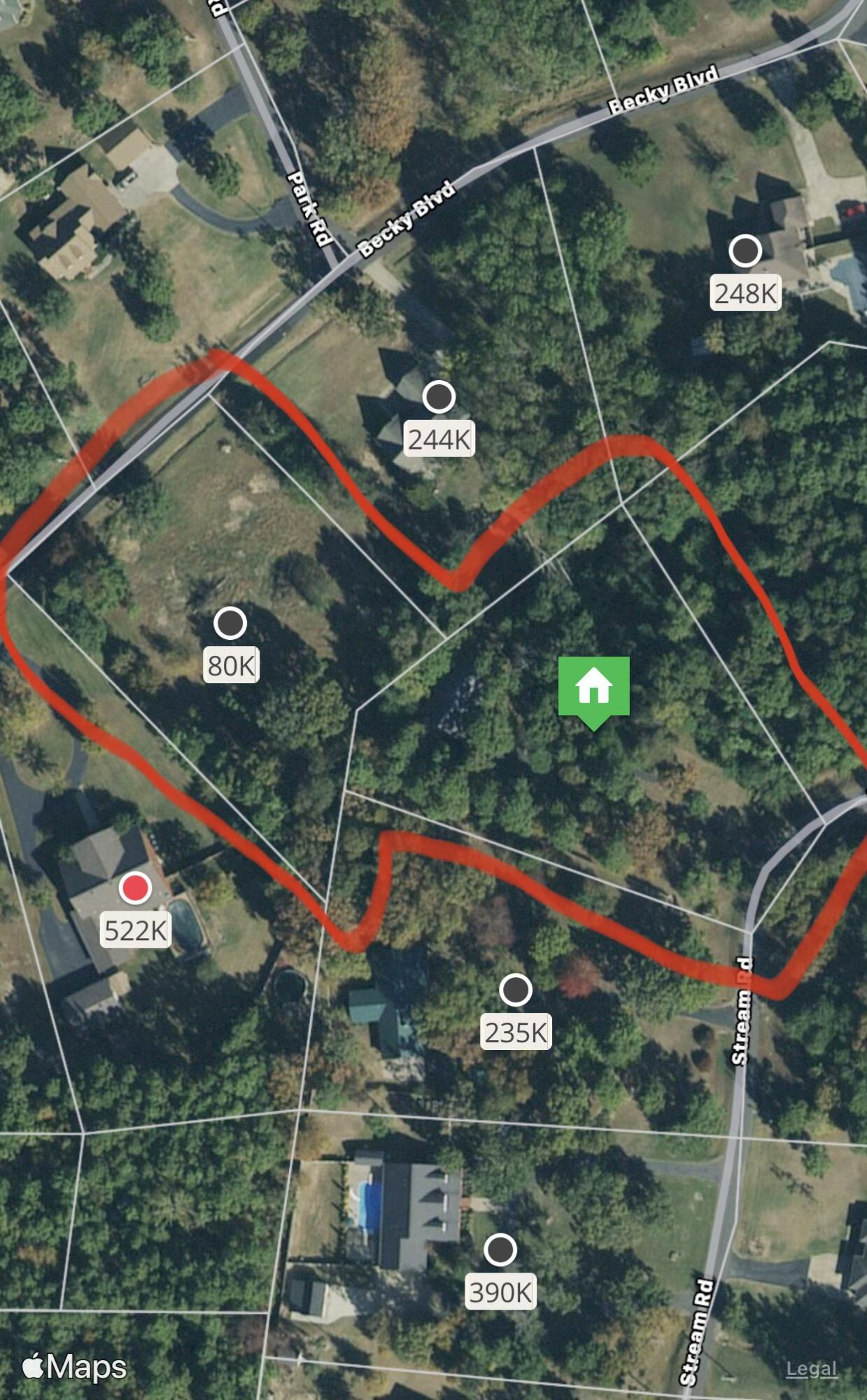 Large photo 29 of home for sale at 243 Stream Road, Russellville, AR