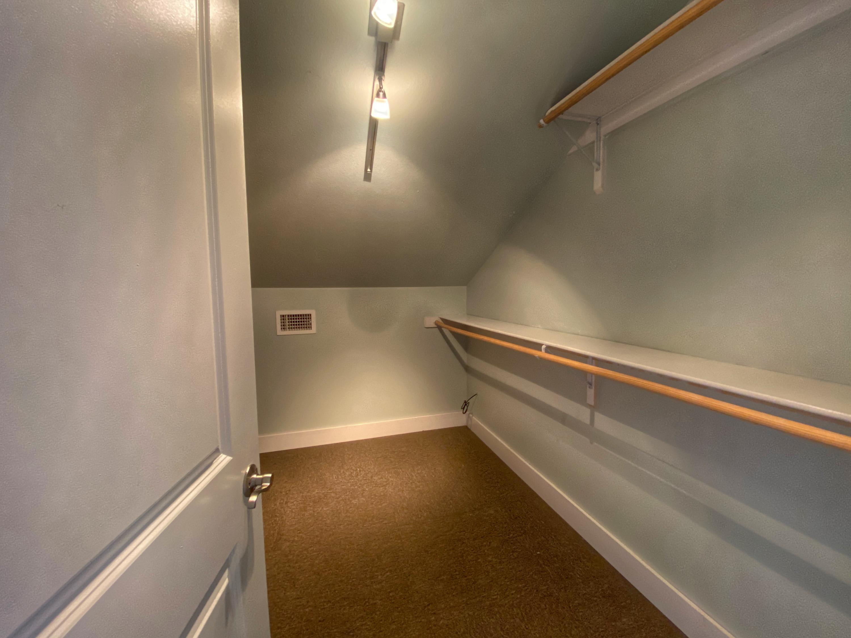Second floor master suite closet