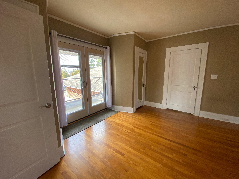 Patio doors off second floor living area