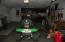One-car bulit-in garage