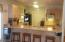 Eat at bar area