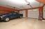 Triple Garage with Workshop and 1/2 Bath