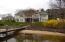 Lake side of home