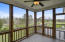 Screened Porch w/Mountain Views