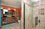 Total bathroom renovation with custom ceramic tile (extra spacious shower)