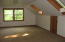 Located off master bedroom with skylights and storage
