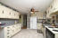 GREAT SPACE IN KITCHEN , PLENTY OF CABINETS