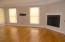 Great Room with beautiful hardwood floors