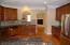 Gourmet style kitchen